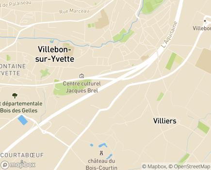 Localisation ESAT - Ateliers de la Prairie - 91140 - Villebon-sur-Yvette