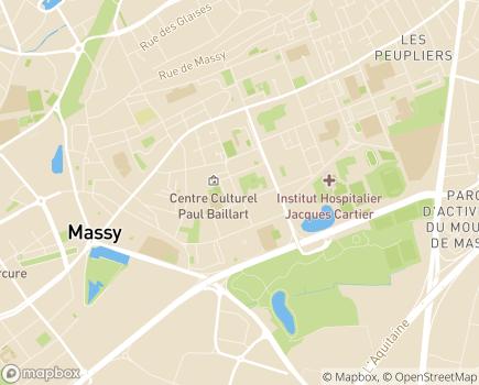 Localisation CLIC La Harpe - 91300 - Massy