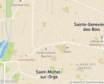 Localisation Centre Communal d'Action Sociale - 91240 - Saint-Michel-sur-Orge