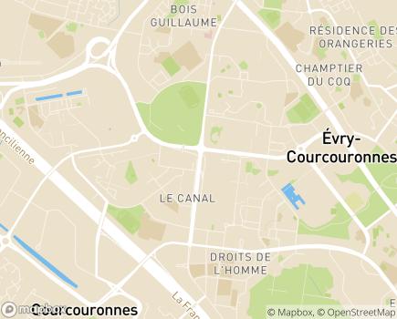 Localisation CLIC du Cœur Essonne - 91080 - Courcouronnes