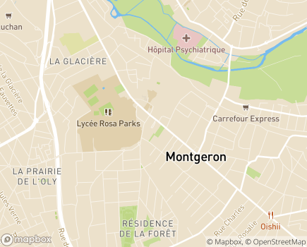 Localisation Etablissement Intégré Jean-Charles Gatinot - 91230 - Montgeron