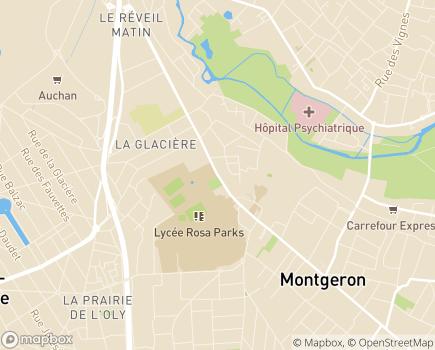 Localisation Foyer Occupationnel La Volière - 91230 - Montgeron