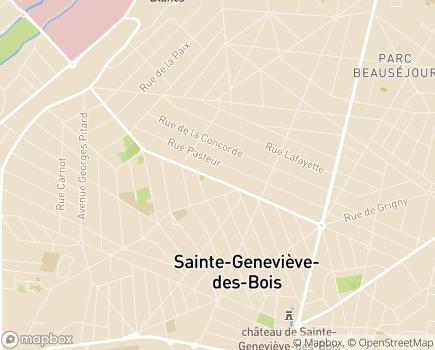 Localisation Complice de Vie - 91700 - Sainte-Geneviève-des-Bois