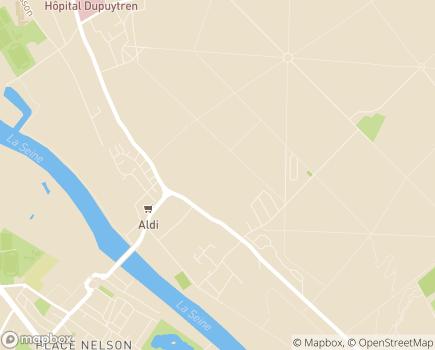 Localisation Groupe Hospitalier Les Cheminots, Hôpital de Draveil - 91210 - Draveil