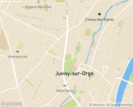 Localisation ADHAP - 91260 - Juvisy-sur-Orge