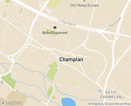 Localisation Centre Communal d'Action Sociale - 91160 - Champlan