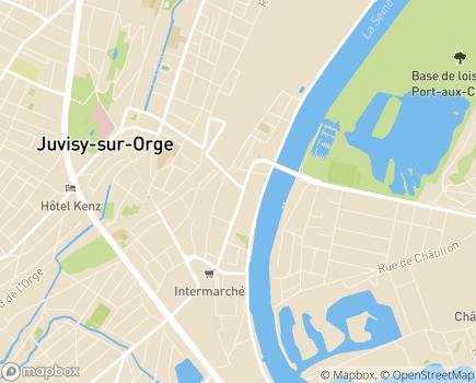 Localisation AMFD Ile de France - 91260 - Juvisy-sur-Orge