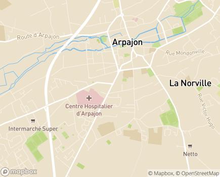 Localisation Section Sport Adapté - 91290 - Arpajon
