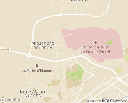 Localisation Maison d'Accueil Spécialisée - MAS La Beauceraie - 91150 - Étampes
