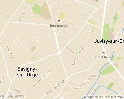 Localisation ONELA Agence de Savigny-sur-Orge - 91600 - Savigny-sur-Orge