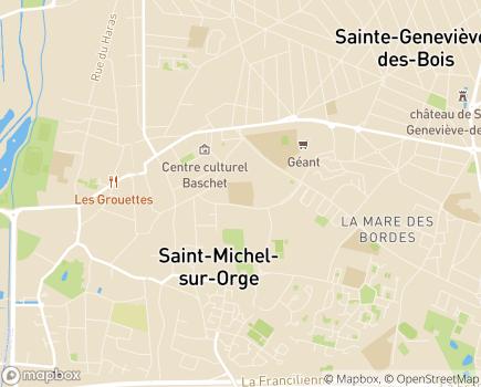 Localisation Les Jardins d'Arcadie Saint-Michel-sur-Orge - 91240 - Saint-Michel-sur-Orge
