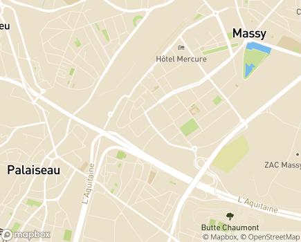 Localisation Résidence avec Services Les Girandières - 91300 - Massy