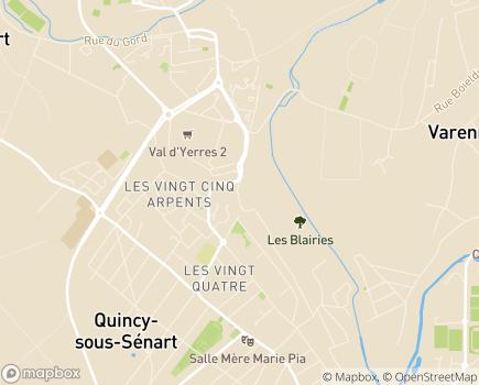 Localisation Domitys La Serpentine - Résidence avec Services - 91480 - Quincy-sous-Sénart