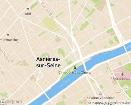 Localisation Foyer CITL Jean Barberi - 92600 - Asnières-sur-Seine