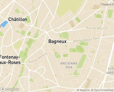 Localisation Association EHS Espérance Hauts de Seine - 92220 - Bagneux