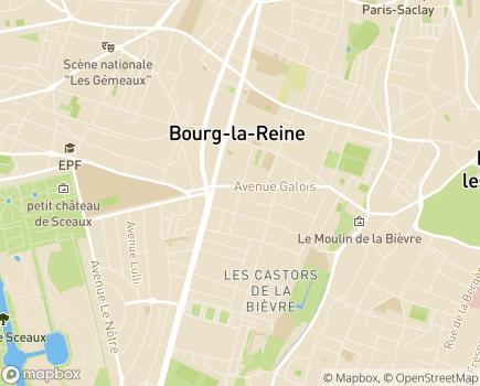 Localisation Association Jeunesse - 92340 - Bourg-la-Reine
