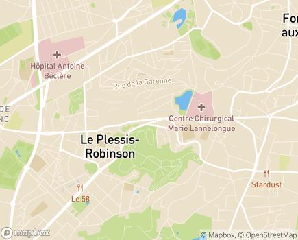 Localisation Direction de l'Action Sociale Centre Communal d'Action Sociale - 92130 - Issy-les-Moulineaux