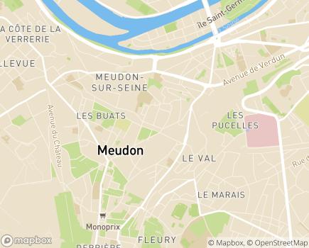 Localisation Foyer de Vie - CITL Paul Vernon - 92190 - Meudon
