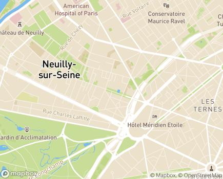 Localisation Association Notre-Dame, Maison d'Accueil Spécialisée - 92200 - Neuilly-sur-Seine
