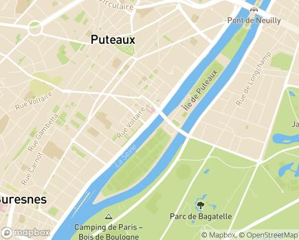 Localisation Fondation Santé Service, Hospitalisation à Domicile en Ile-de-France - 92816 - Puteaux