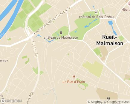 Localisation EHPAD Fondation Cognacq Jay - 92500 - Rueil-Malmaison