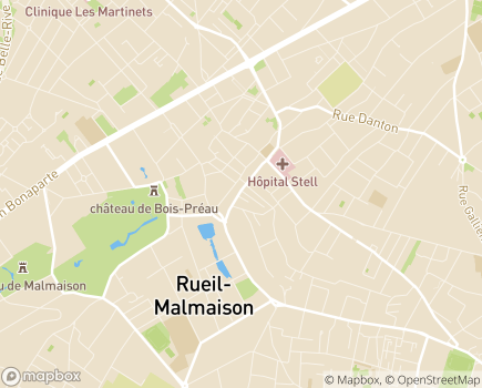 Localisation Korian Villa Impératrice - 92500 - Rueil-Malmaison