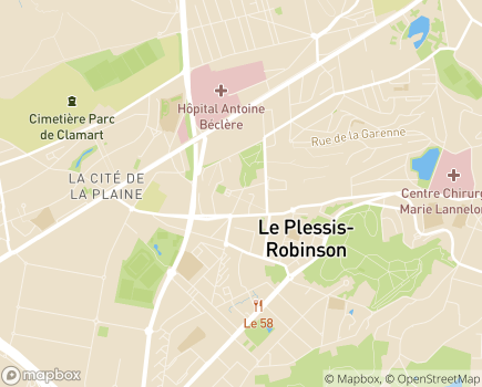 Localisation Foyer Les Robinsons - 92350 - Le Plessis-Robinson