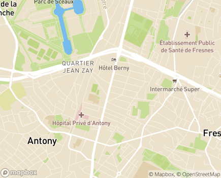 Localisation Korian Florian Carnot - 92160 - Antony