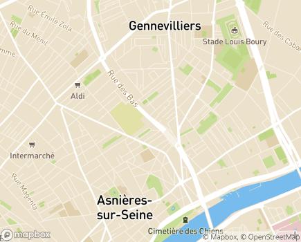 Localisation Adoma Direction territoriale des Hauts de Seine - 92600 - Asnières-sur-Seine