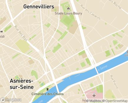 Localisation La Maison des Cytises EHPAD - Adef Résidences - 92230 - Gennevilliers