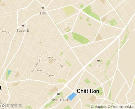 Localisation Familles Services - site LADAPT - 92320 - Châtillon