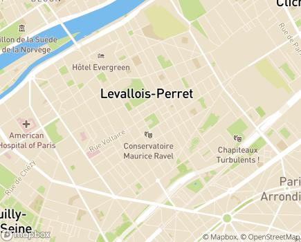 Localisation ASDL - 92300 - Levallois-Perret