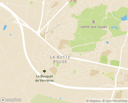 Localisation Synergie - 92290 - Châtenay-Malabry