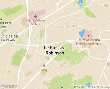 Localisation Centre Communal d'Action Sociale - 92350 - Le Plessis-Robinson