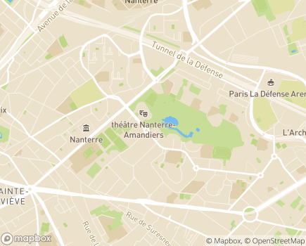 Localisation Centre d'Hébergement et de Réinsertion Sociale de Longue Durée - 92000 - Nanterre