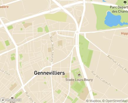 Localisation ESAT HOFFER - 92230 - Gennevilliers