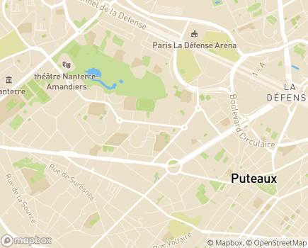 Localisation Centre d'Initiation au Travail Pablo Picasso - 92000 - Nanterre