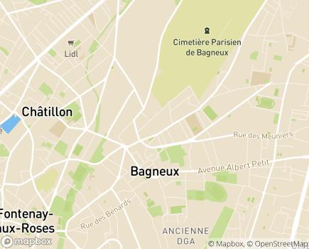 Localisation EHPAD Résidence Villa Garlande - 92220 - Bagneux