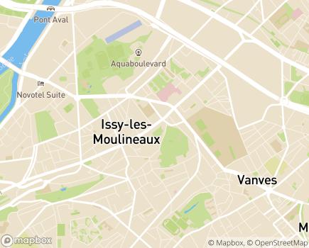 Localisation Résidence avec Services Les Héspérides - 92130 - Issy-les-Moulineaux