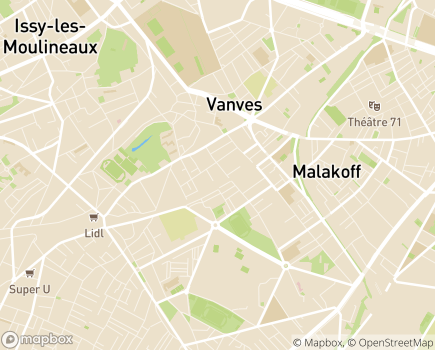 Localisation EHPAD Résidence Medicis - 92170 - Vanves