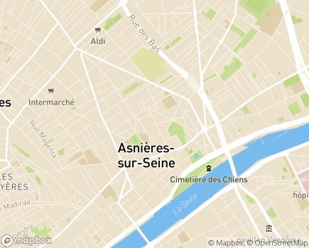 Localisation Centre d'Accueil de Jour Anne Marie Obert - 92600 - Asnières-sur-Seine