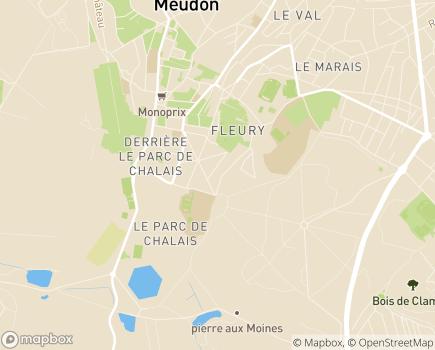 Localisation Foyer Fleury - 92190 - Meudon