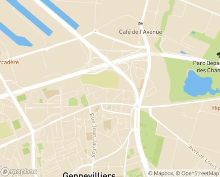 Localisation Foyer d'Accueil médicalisé Villebois Mareuil - 92230 - Gennevilliers