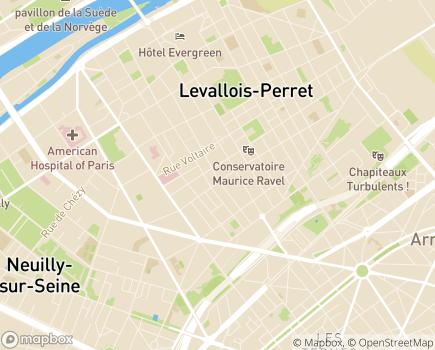 Localisation Le Temps d'Aider - 92300 - Levallois-Perret