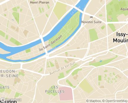 Localisation Foyer d'Hébergement Michelle Darty 92 - 92130 - Issy-les-Moulineaux