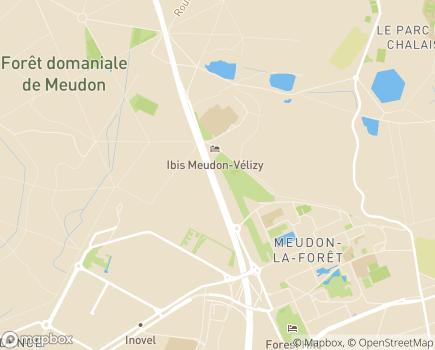 Localisation EHPAD Résidence du Parc - 92360 - Meudon-la-Forêt