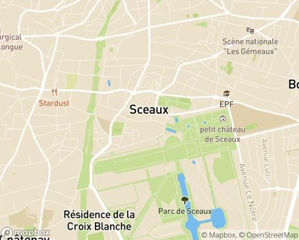 Localisation SSIAD Service de Soins Infirmiers à Domicile - 92330 - Sceaux