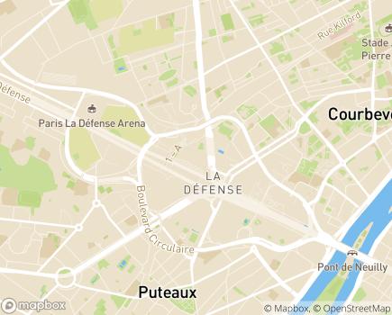 Localisation IFSI de l'Institut Hospitalier Franco-Britannique - 92800 - Puteaux