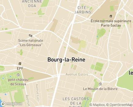 Localisation Foyer de Vie et FAM Notre Dame - 92340 - Bourg-la-Reine