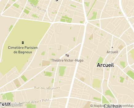 Localisation ADHAP - 92220 - Bagneux